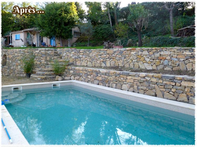 Piscine avec mur en pierre rs46 montrealeast - Hotel var avec piscine ...