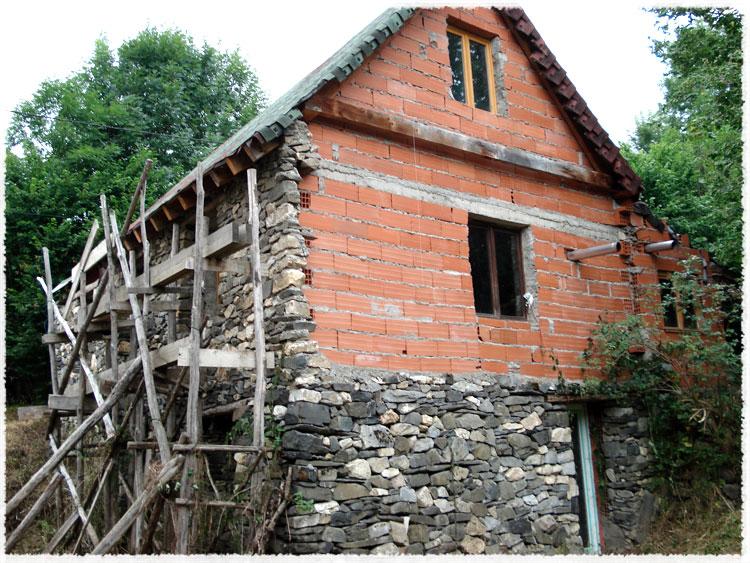 R novation maison murs en pierres provence var - Renovation vieille maison pierre ...